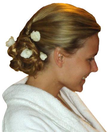 coiffure Grace Kelly aux arcs